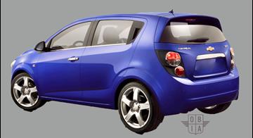 Afbeelding van Achterruit Chevrolet Aveo 5 deurs