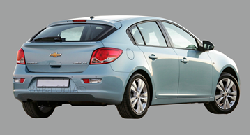 Afbeelding van Achterruit Chevrolet Cruze 5 deurs