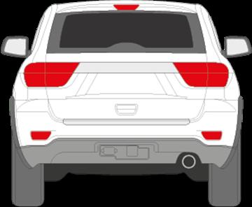 Afbeelding van Achterruit Jeep Grand Cherokee (DONKERE RUIT)