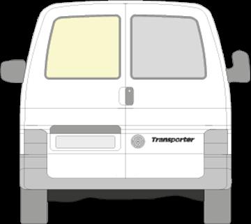 Afbeelding van Achterruit links Volkswagen Transporter (NIET VERWARMD)
