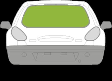 Afbeelding van Achterruit Fiat Bravo 3 deurs