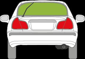 Afbeelding van Achterruit Mitsubishi Carisma 5 deurs (1999-2005)