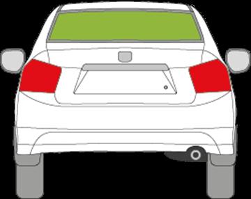 Afbeelding van Achterruit Honda City sedan