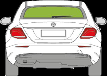 Afbeelding van Achterruit E-klasse sedan