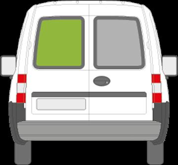 Afbeelding van Achterruit links Opel Combo (getint)