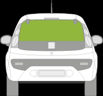 Afbeelding van Achterruit Citroën C1 3 deurs